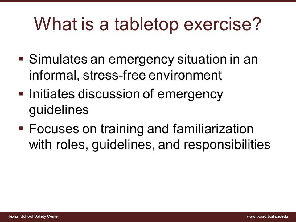 Tabletop Exercise Meningitis Outbreak - ppt download