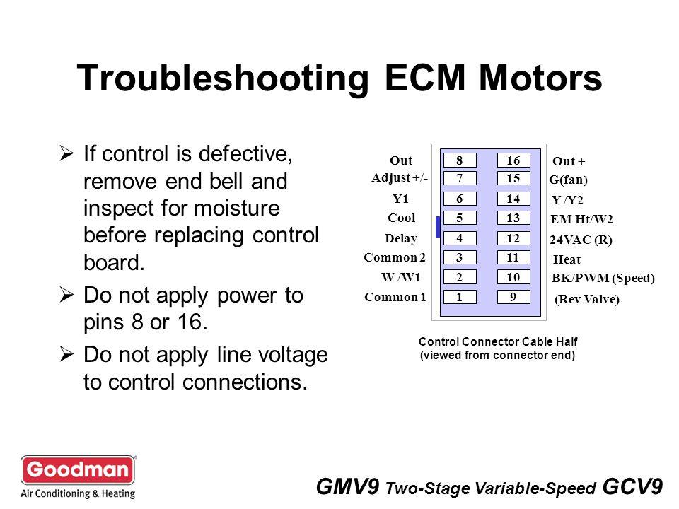 ge ecm variable speed blower motor 16 pin wiring harness 21