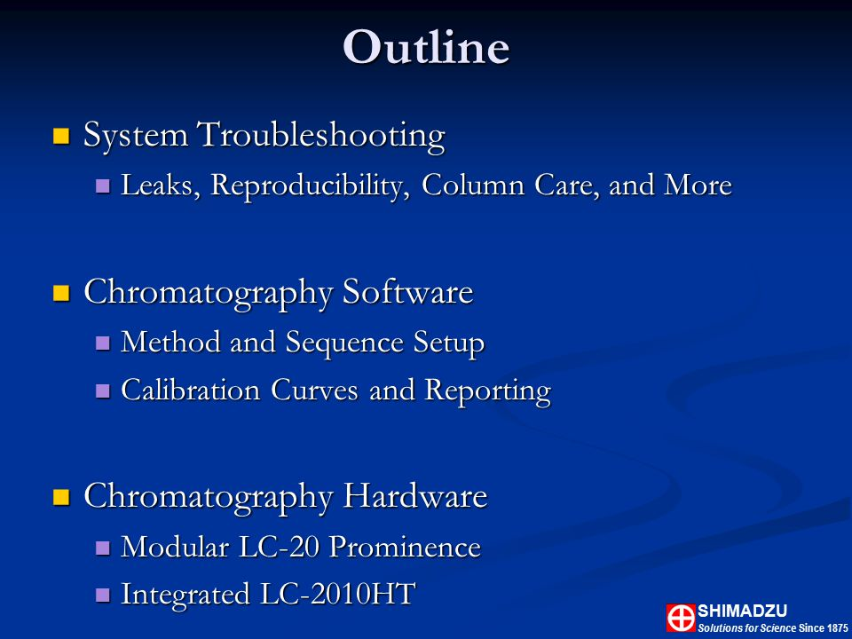 Introduction to Liquid Chromatography - ppt download