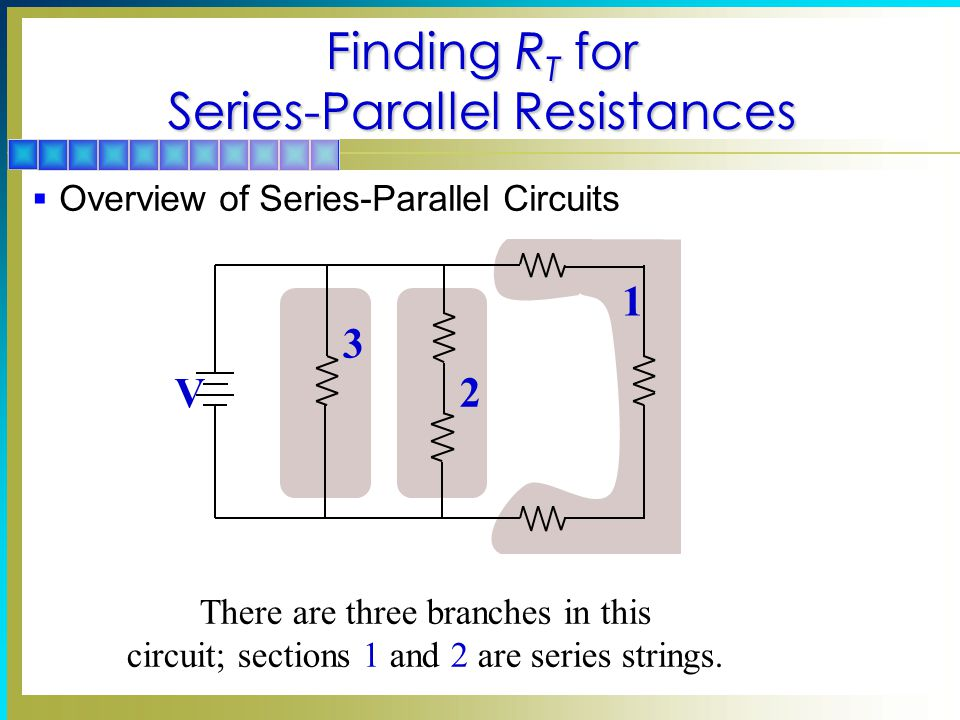 Finding RT for Series-Parallel Resistances