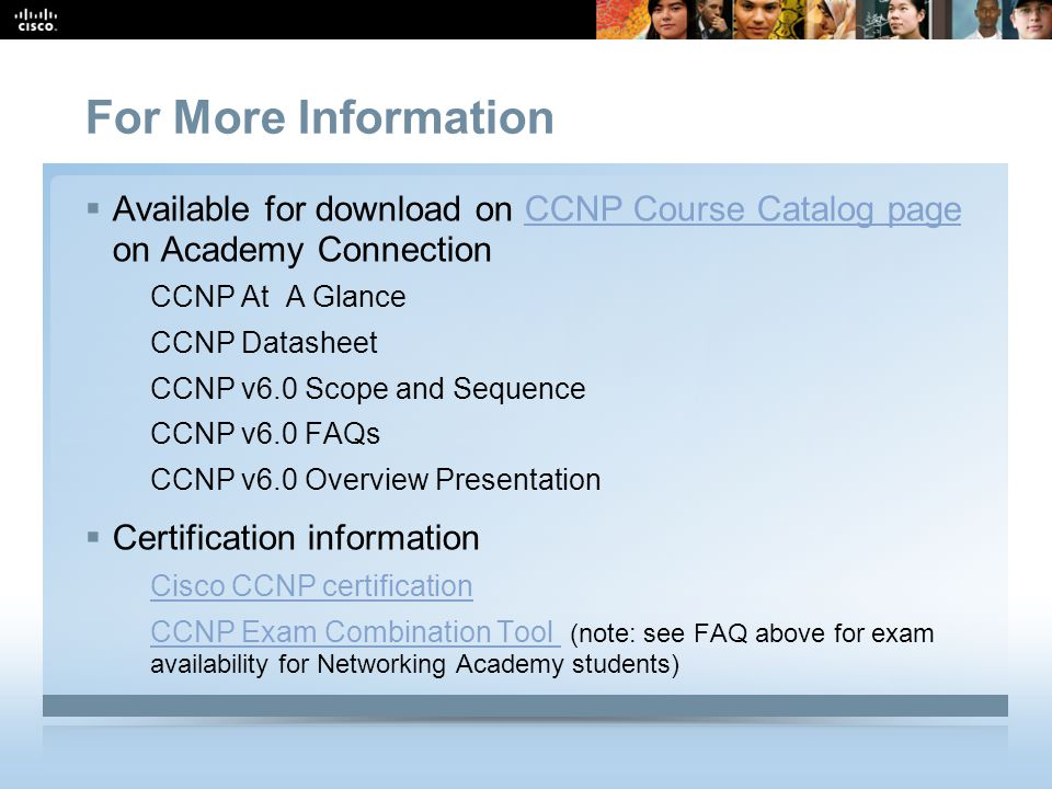 CCNP v6 0 Overview May ppt download