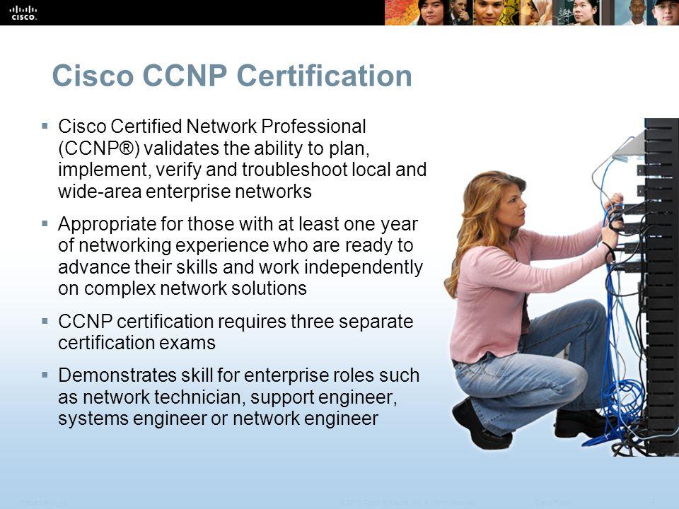 CCNP v6.0 Overview May ppt download