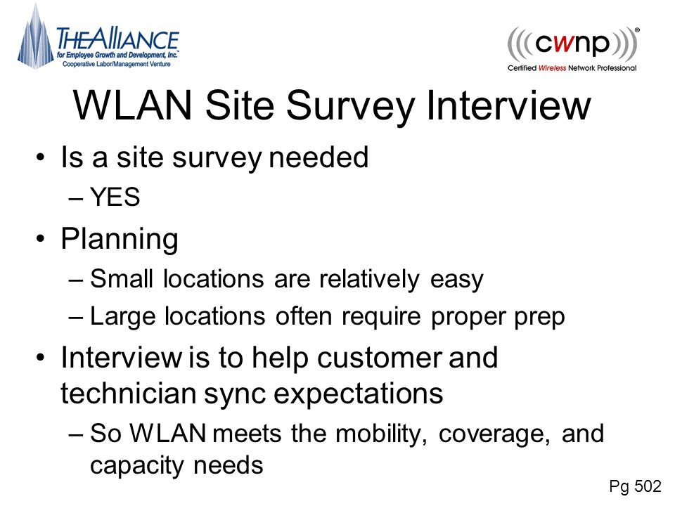 aesthetics are often a consideration in wlan site surveys chapter 15 radio frequency site survey fundamentals ppt 3653
