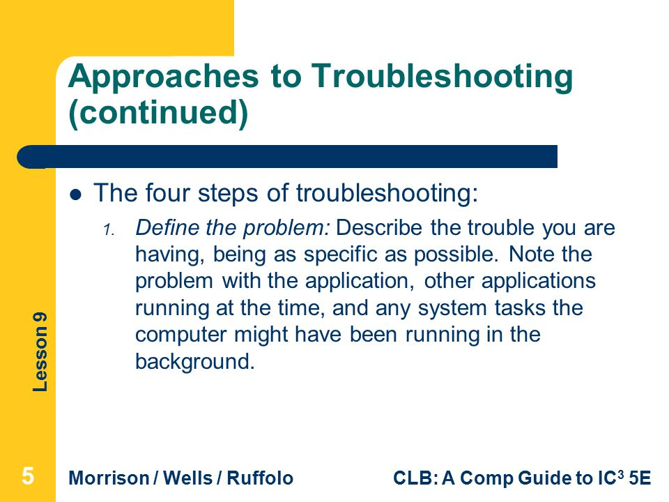 lesson 9 computer troubleshooting ppt video online download rh slideplayer com File Transfer for PC Transfer Files PC to Mac