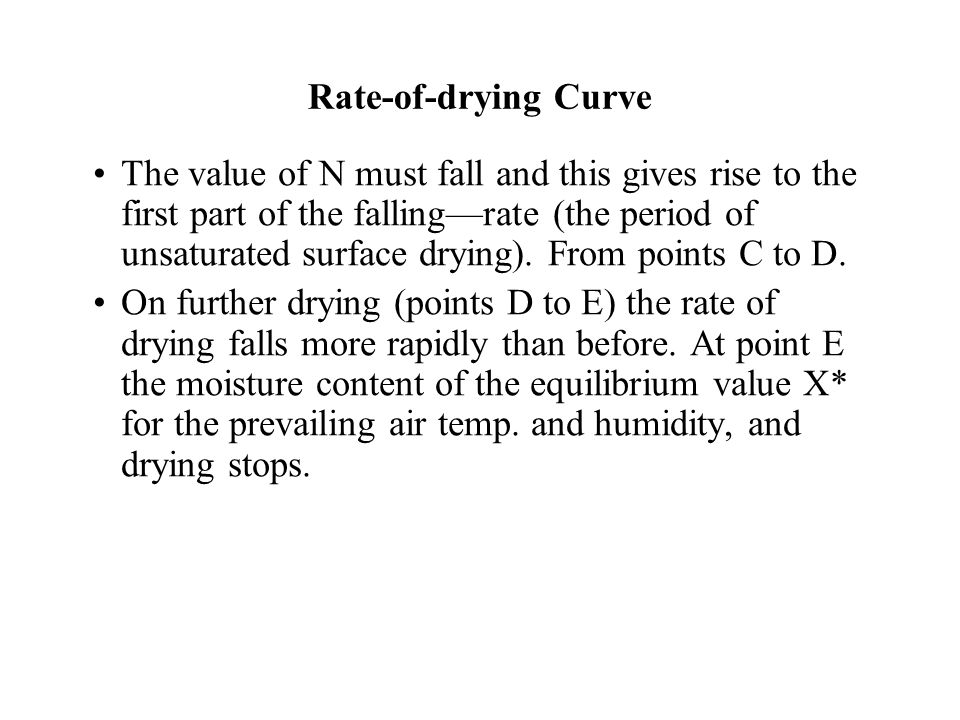 Drying curve ppt
