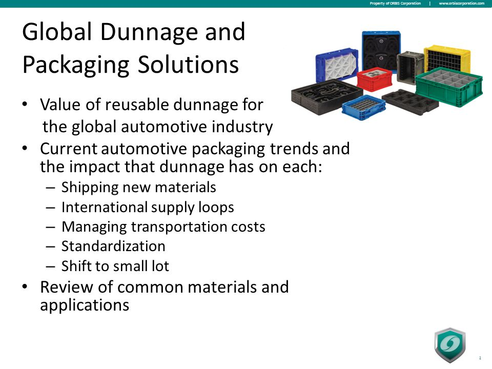 Global Returnable Transport Packaging Market Essay