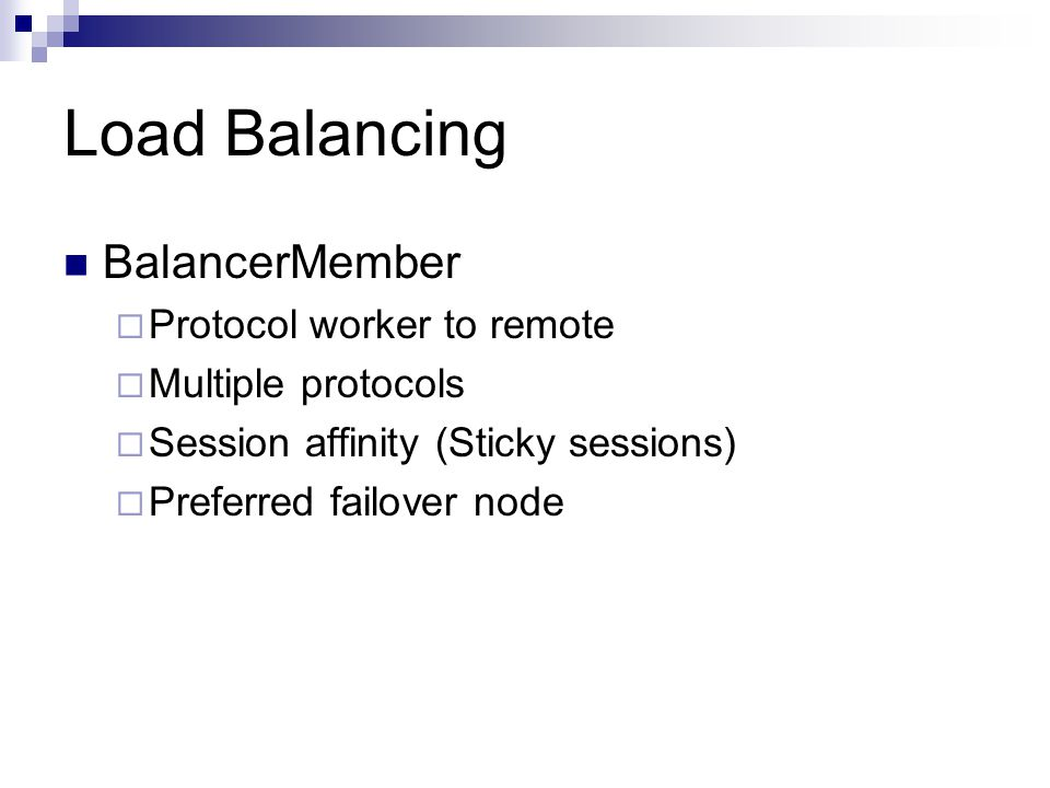 Clustering and load balancing with Apache 2 2 mod_proxy