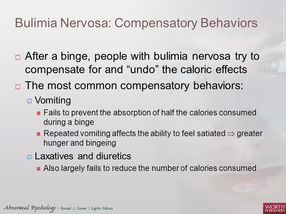 Anorexia nervosa Bulimia nervosa Eating Disorders - ppt