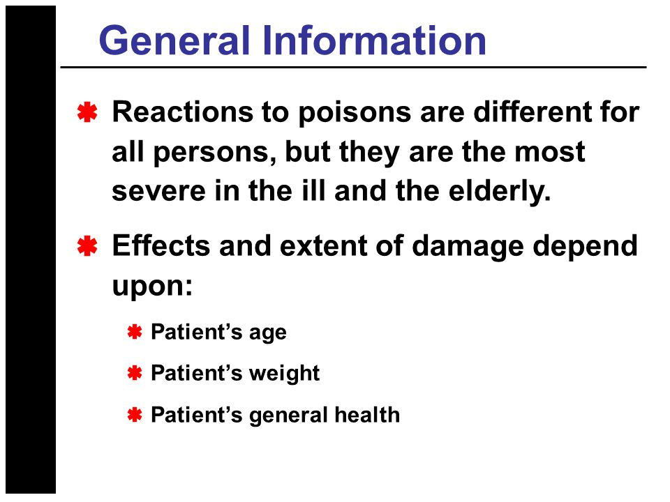 Poisoning and Overdose Emergencies - ppt video online download