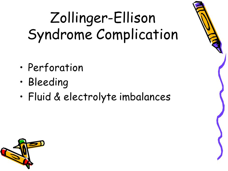 Zollinger-Ellison Syndrome Complication