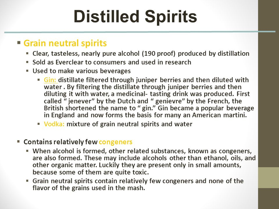 Chapter 9 Alcohol  - ppt download