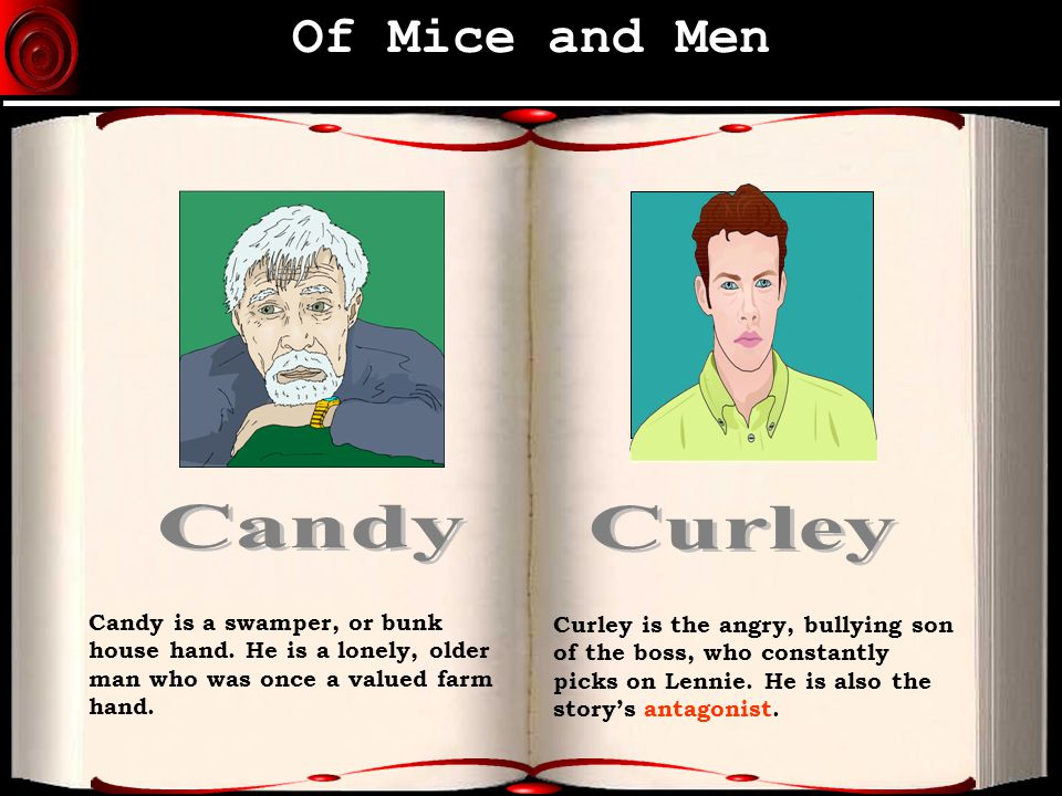 Of mice and men candy hand