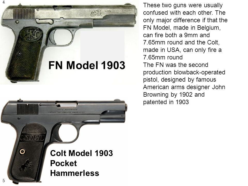 WWI Pistols and Rifles by: Tucker Snider  - ppt video online