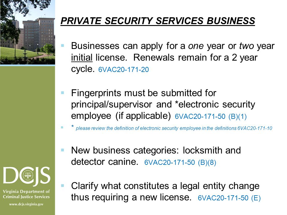 Regulations Relating to Private Security Services - ppt download