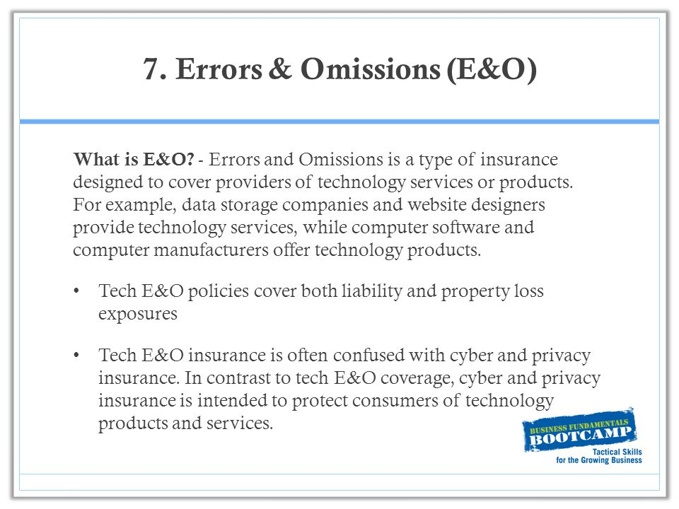 Claims made and reported e&o coverage | insurance specialties services.
