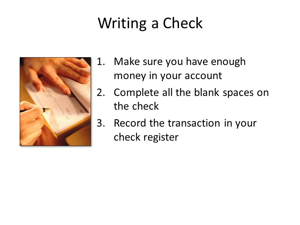 requirements for opening a checking account ppt download