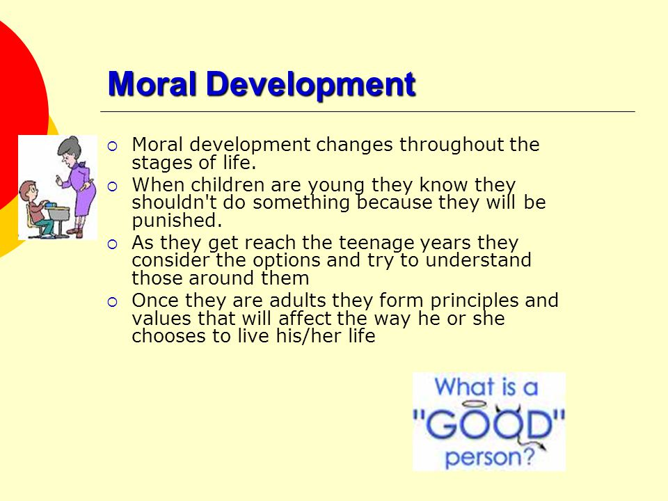 Moral development adults pity, that