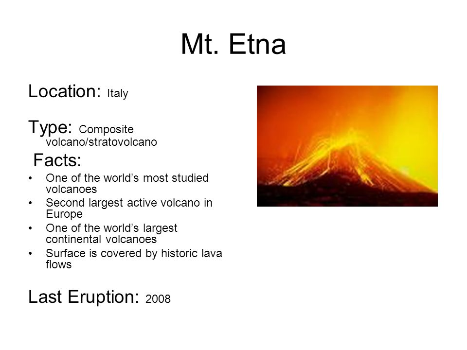 mount etna rock dating examples