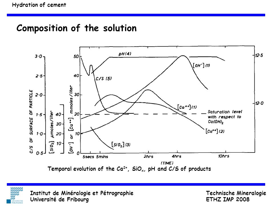 Composition of the solution