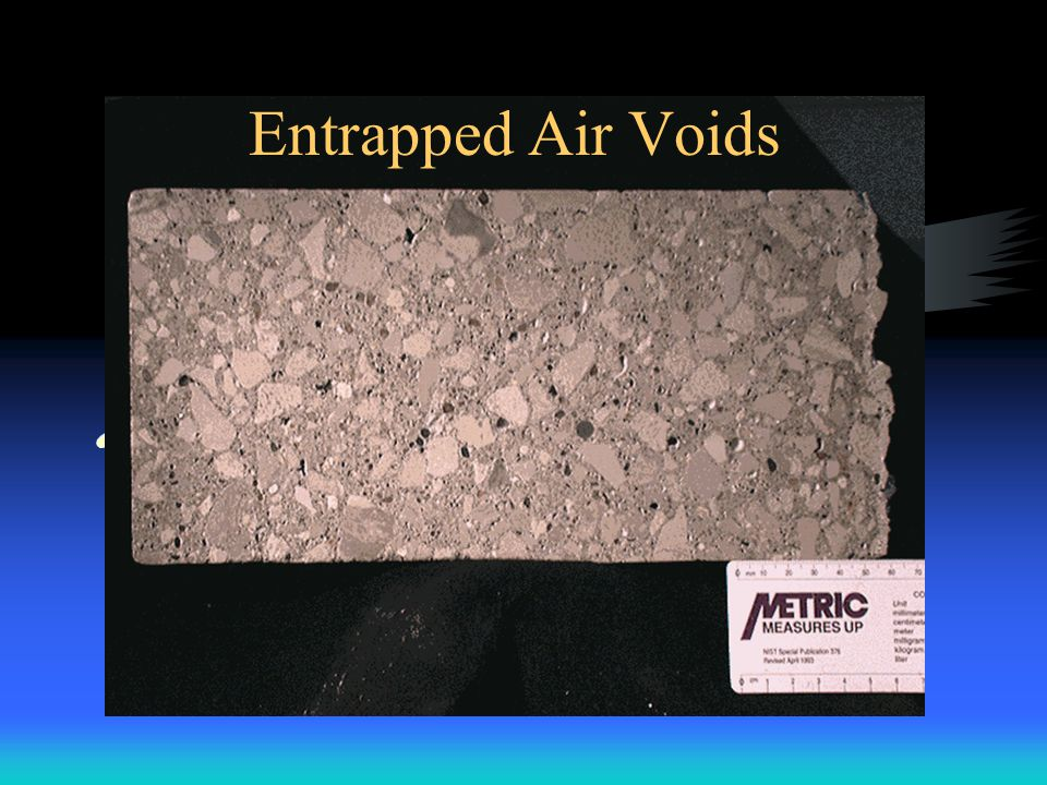 Entrapped Air Voids