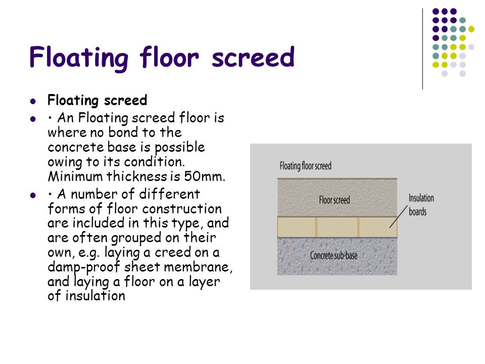 Floor Screeding Lesson No Ppt Video Online Download