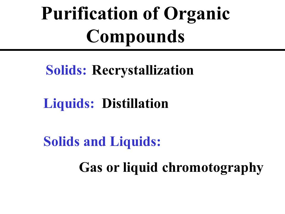 purification of benzoic acid by recrystallization