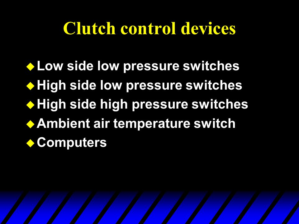 Clutch control devices