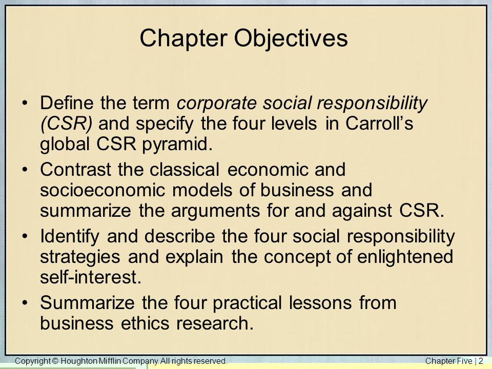 csr reading summary Corporate social responsibility (csr) has been in existence for a long time and is almost as old as company is a social institution having duties and responsibilities towards the community in.