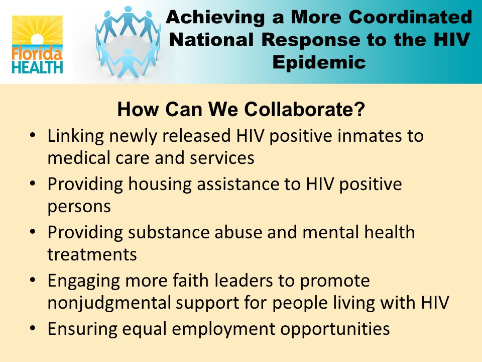 Achieving a More Coordinated National Response to the HIV Epidemic