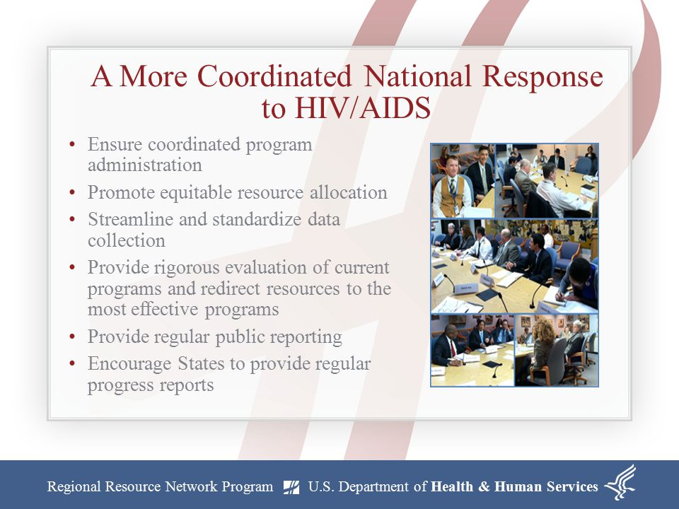 A More Coordinated National Response to HIV/AIDS