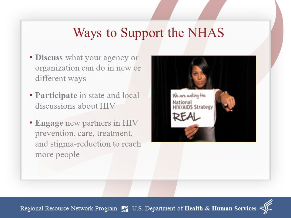 Ways to Support the NHAS