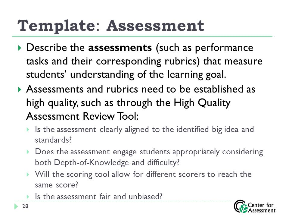 assessments is a good measure of student learning pdf