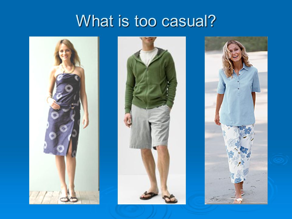 what is casual
