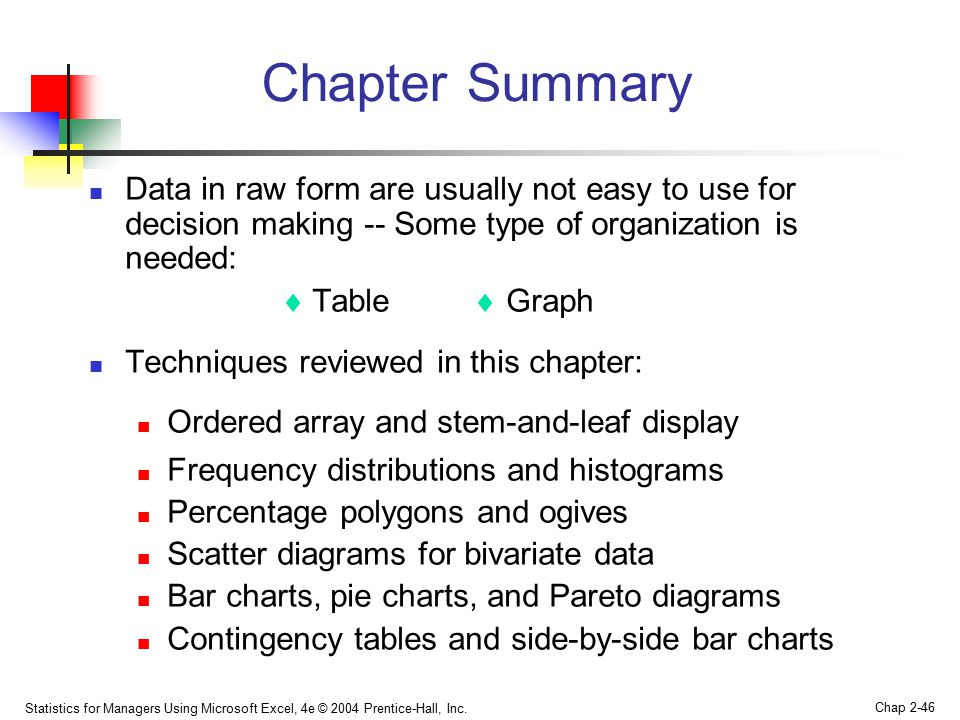 Chapter 2 Presenting Data In Tables And Charts Ppt Video Online