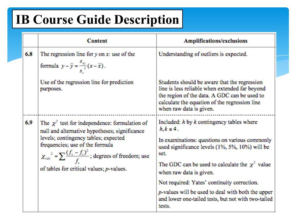 Ib Math Studies Topic 6 Statistics Ppt Video Online Download