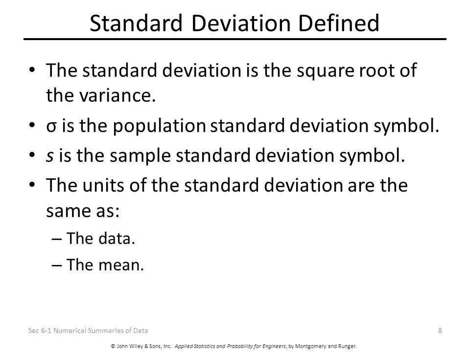 6 Descriptive Statistics 6 1 Numerical Summaries Of Data 6 4 Box