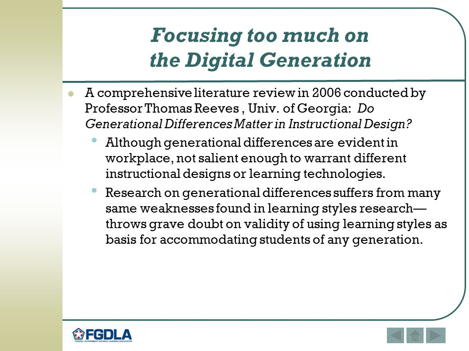 Enough With Learning Styles Already >> Learning Styles And Generational Differences Do They Matter Ppt