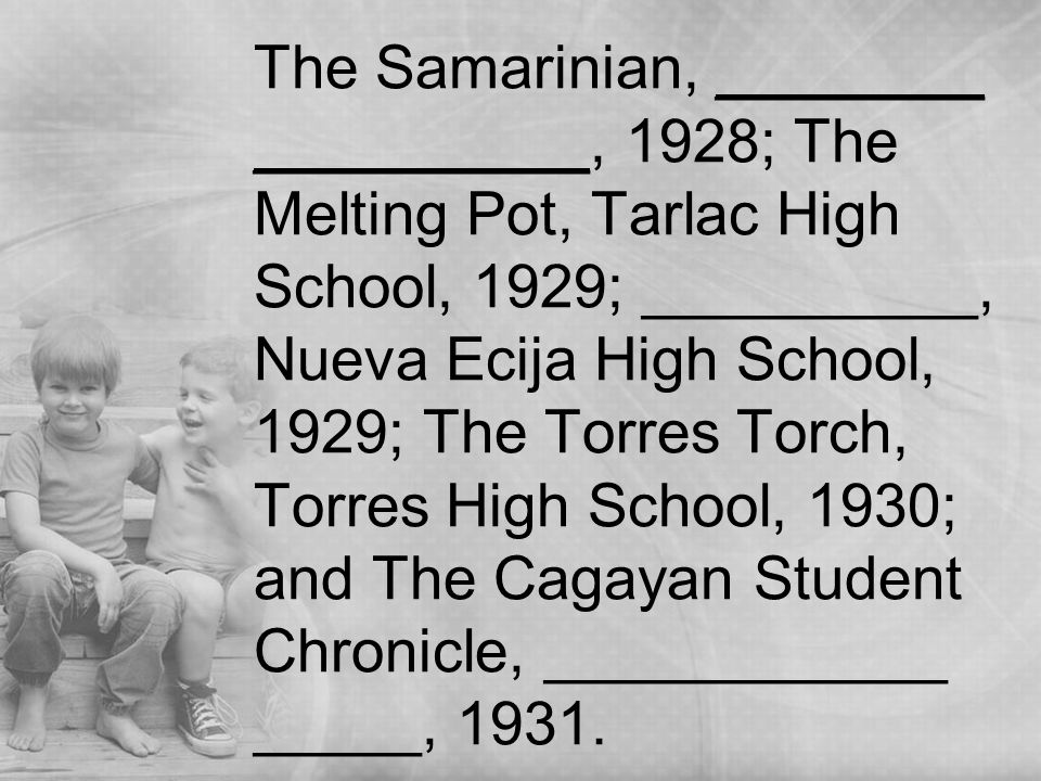 brief history of maryknoll high school The de la salle john bosco college (dlsjbc) is a paascu-accredited lasallian district school located in mangagoy, bislig city, surigao del sur in the philippinesestablished in 1963 by the don bosco fathers, the administration and supervision of the institution was formally turned over to the de la salle brothers in 1977.