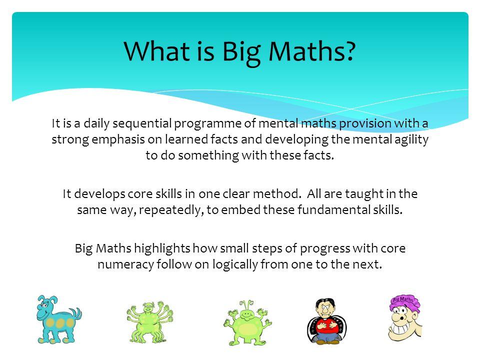 Big Maths at Redbourn Junior School - ppt download