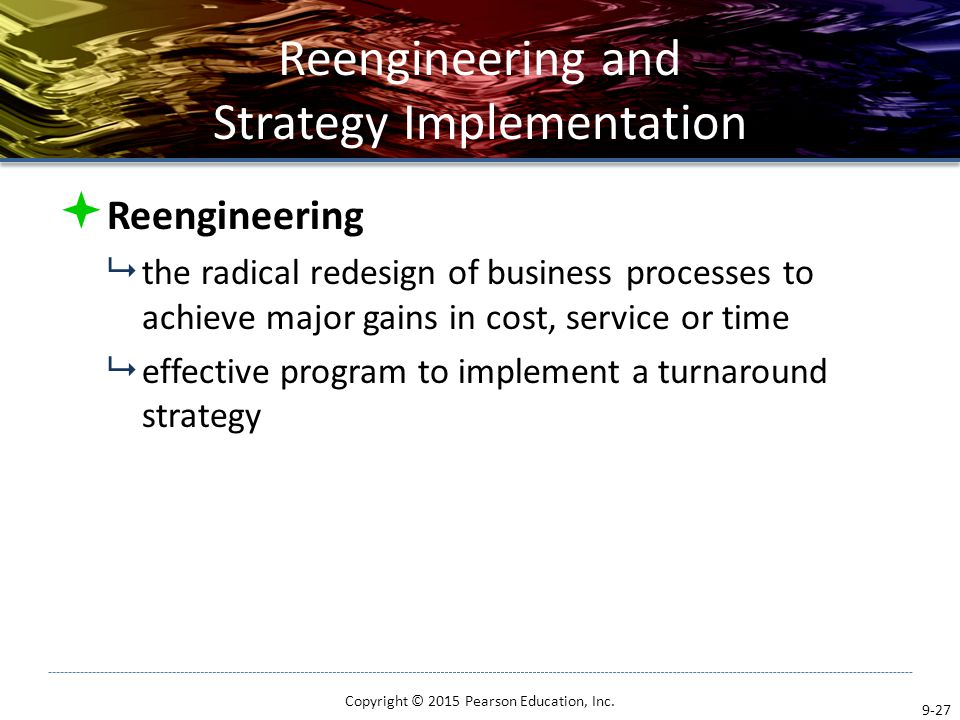 Strategy Implementation: Organizing for Action - ppt video online