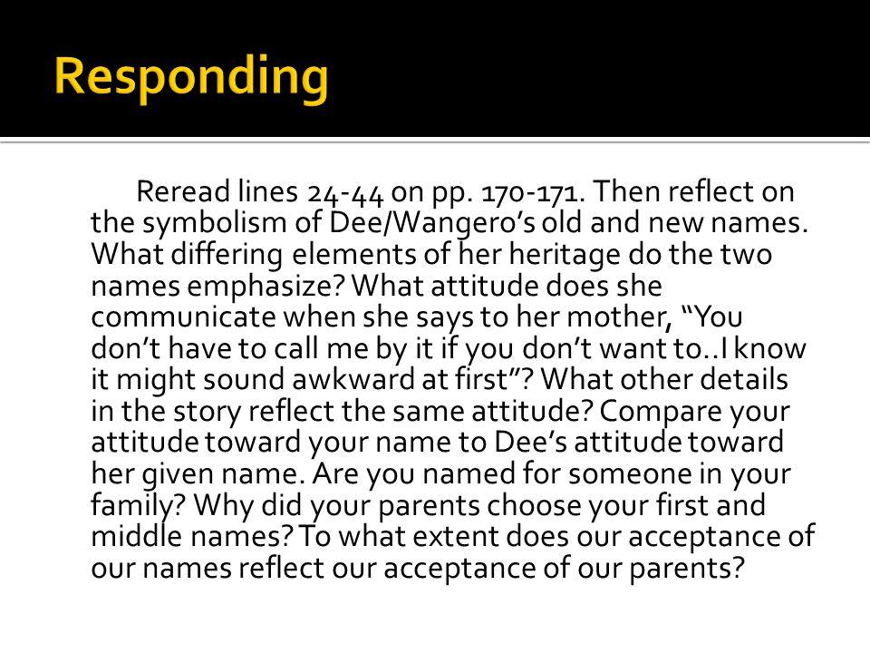 wangero meaning