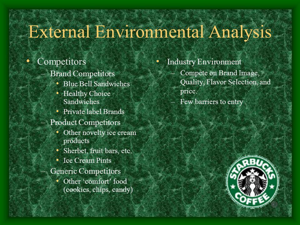 starbucks environmental analysis
