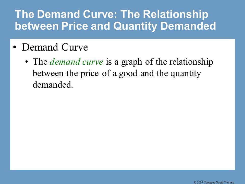 Figure 1 Catherine's Demand Schedule and Demand Curve