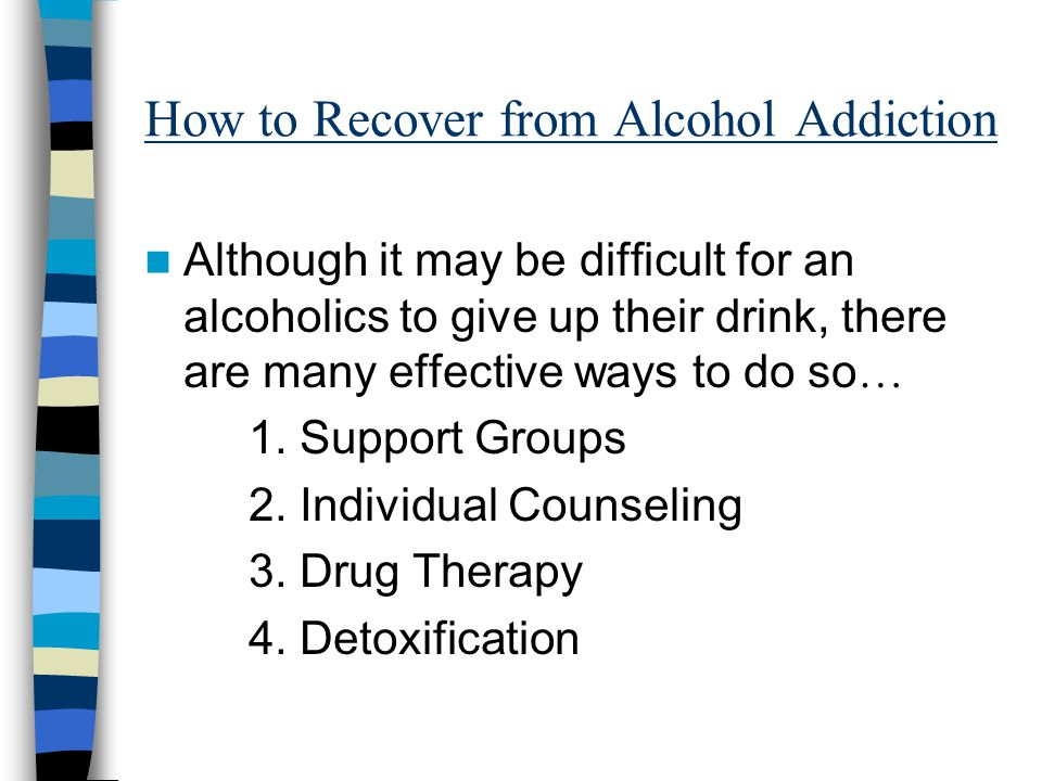 How to Recover from Alcohol Addiction