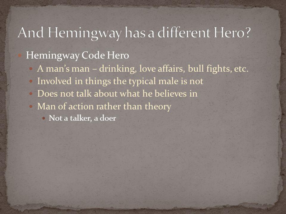 what is a hemingway hero