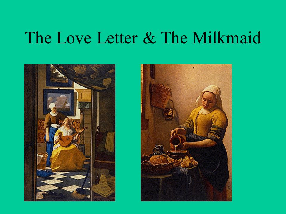 the love letter vermeer enlightenment ideas spread ppt 25206