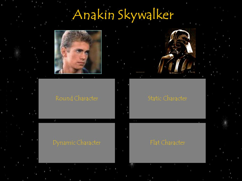 Anakin Skywalker Round Character Static Character Dynamic Character