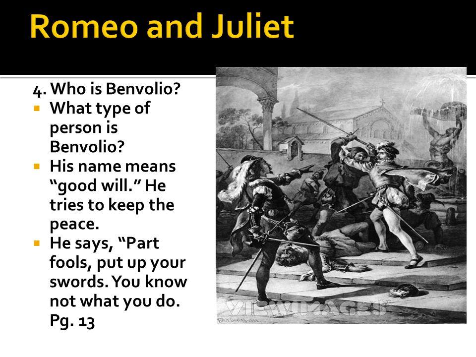 who is benvolio