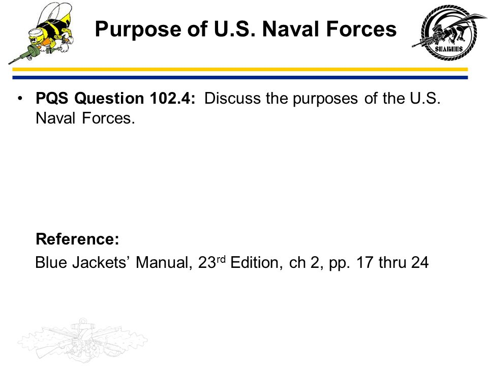 seabee combat warfare common core