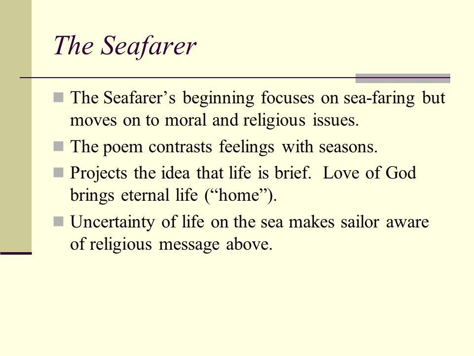 the seafarer analysis